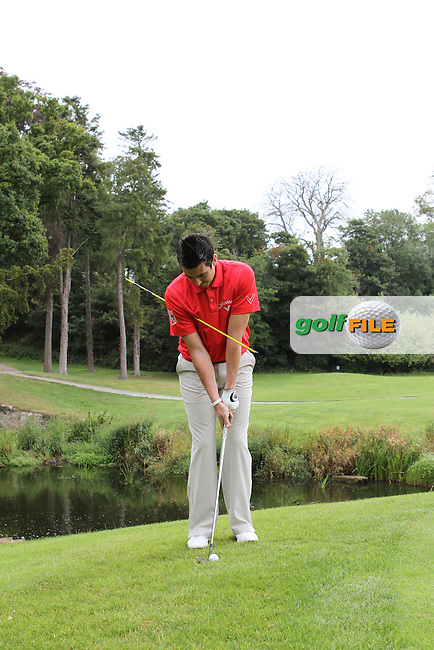 Picture Jenny Matthews www.golffile.ieDan Frost PGA Professional at Carton House Golf Club, Manooth, Co Kildare Ireland.6/8/11.Day 1 Feature 1.Picture Jenny Matthews www.golffile.ie