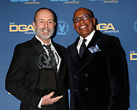 LOS ANGELES - FEB 2:  John Landgraf, Paris Barclay at the 2019 Directors Guild of America Awards at the Dolby Ballroom on February 2, 2019 in Los Angeles, CA