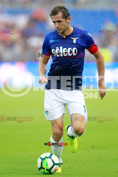 SS Lazio's Senad Lulic during XXXIII Costa del Sol Trophy. August 5,2017. (ALTERPHOTOS/Acero) /NortePhoto.com
