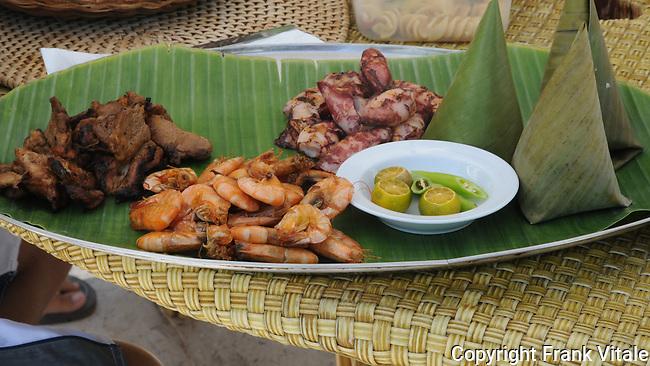 Lunch on Entalula Island, Palawan, Philippines