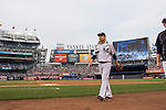 Masahiro Tanaka (Yankees),<br /> JULY 3, 2015 - MLB :<br /> Masahiro Tanaka of the New York Yankees walks to the dugout before the Major League Baseball game against the Tampa Bay Rays at Yankee Stadium in the Bronx, New York, United States. (Photo by Thomas Anderson/AFLO) (JAPANESE NEWSPAPER OUT)