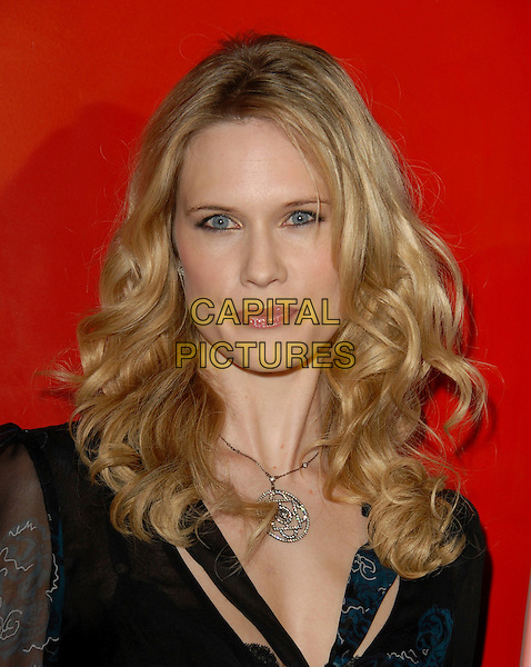 STEPHANIE MARCH.The NBC All Star Party held at The Ritz Carlton in Pasadena, California .January 22nd, 2006.Ref: DVS.headshot portrait silver necklace.www.capitalpictures.com.sales@capitalpictures.com.Supplied By Capital PIctures