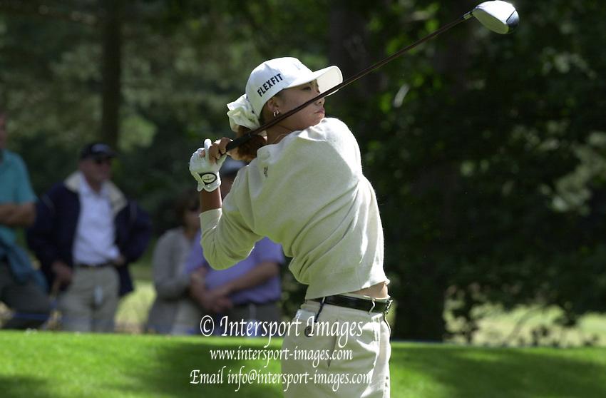 2001 Weetabix Women's British Open, Sunningdale Golf Course, Berks, Great Britain<br />  <br /> [Mandatory Credit Peter Spurrier/Intersport Images]<br /> <br /> Sat 4th August 2001<br /> <br /> Korea's Mi Hyun Kim.