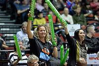 Action from the NBL Final Four - Hawks v Sharks at TSB Bank Arena, Wellington, New Zealand on Friday 4 July 2014. <br /> Photo by Masanori Udagawa. <br /> www.photowellington.photoshelter.com.