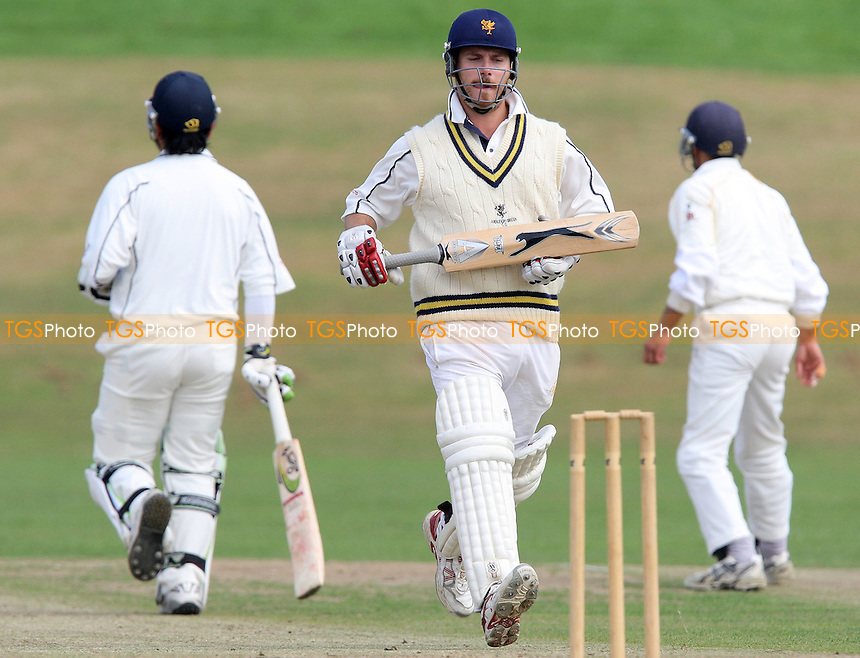 R Glassberg completes a vital run for Ardleigh Green - Ardleigh Green CC vs Hainault & Clayhall CC - Essex Cricket League- 08/09/07  - MANDATORY CREDIT: Gavin Ellis/TGSPHOTO - SELF-BILLING APPLIES WHERE APPROPRIATE. NO UNPAID USE. TEL: 0845 094 6026..