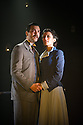 Southwark Playhouse's Main House presents the premiere of Sebastian Barry's THE ONLY TRUE HISTORY OF LIZZIE FINN for a four week engagement beginning June 21. The show is directed by Critic's Circle Award Winner Blanche McIntyre. Picture shows: Justin Avoth (as Robert Gibson) and Shereen Martin (as Lizzie Finn). Photo credit: Jane Hobson