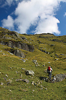 Ascending the slopes of Ben Vorlich, Loch Lomondside, Loch Lomond & The Trossachs National Park, Southern Highlands, Stirlingshire<br /> <br /> Copyright www.scottishhorizons.co.uk/Keith Fergus 2011 All Rights Reserved