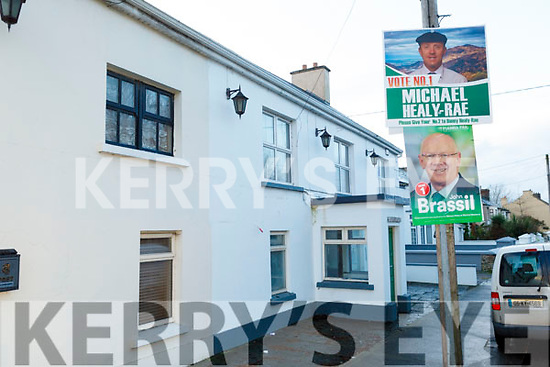 John Brassil's election poster at Nancy Myles in Ballymullen