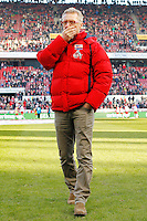 07.02.2015, RheinEnergieStadion, K&ouml;ln, GER, 1. FBL, 1. FC K&ouml;ln vs SC Paderborn, 20. Runde, im Bild Trainer Peter Stoeger (1. FC Koeln) // during the German Bundesliga 20th round match between 1. FC Cologne and SC Paderborn at the RheinEnergieStadion in K&ouml;ln, Germany on 2015/02/07. EXPA Pictures &copy; 2015, PhotoCredit: EXPA/ Eibner-Pressefoto/ Sch&uuml;ler<br /> <br /> *****ATTENTION - OUT of GER***** <br /> Football Calcio 2014/2015<br /> Bundesliga Germania<br /> Foto Expa / Insidefoto