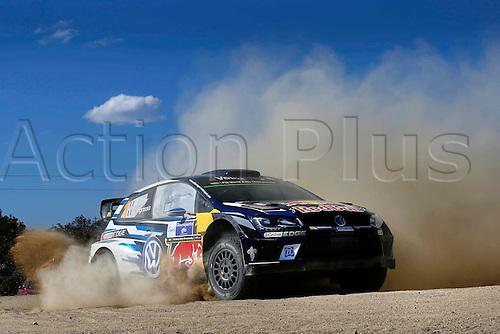 05.03.2016. Guanajuata, Mexico. WRC Rally of Mexico, Day 2.  Sebastien Ogier (FRA) – Julien Ingrassia (FRA) - Volkswagen Polo R WRC