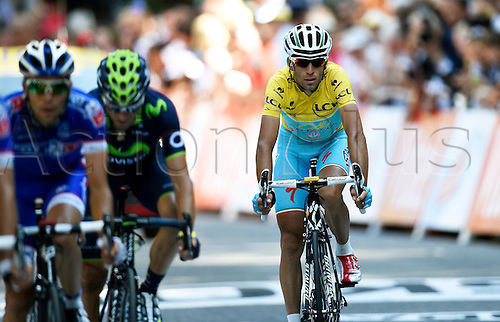 22.07.2014. Carcassonne to Bagnères-de-Luchon, France. Tour de France cycling championship, stage 16.   NIBALI Vincenzo ITA of Astana Pro Team