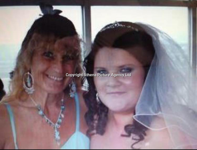 """Pictured: Samantha Evans (R), image found on open social media account<br /> Re: A woman from Cardiff has told how she was standing next one of the victims of the Las Vegas massacre.<br /> Samantha Evans, 36, was at the music festival with her mother when the automatic gunfire started.<br /> Both women suffered minor injuries escaping from the hail of bullets fired from the Mandalay Bay hotel. <br /> Mrs Evans, who works for Virgin Holidays, said: """"Mum and I were at the festival just to the side of where someone got shot.<br /> """"We managed to get away with the help of some amazing Americans."""""""