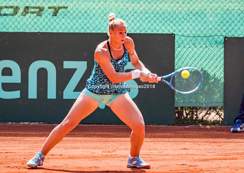 The Hague, Netherlands, 10 June, 2018, Tennis, Play-Offs Competition, Tereza Mrdeza<br /> Photo: Henk Koster/tennisimages.com