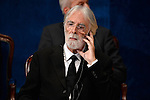 Michael Haneke receives the Prince of Asturias Award for the Arts during the 2013 Prince of Asturias Awards ceremony at the Campoamor Theater in Oviedo, Spain. October 25, 2013..(ALTERPHOTOS/Victor Blanco)