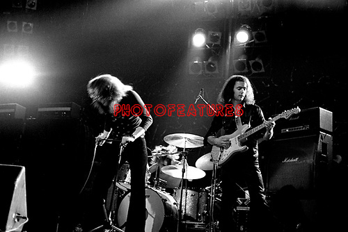 Deep Purple 1974 Ritchie Blackmore and David Coverdale