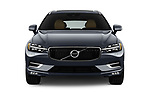 Car photography straight front view of a 2018 Volvo XC60 Inscription 5 Door SUV