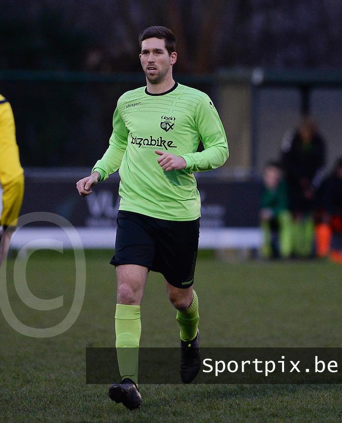 FC Moerkerke  : Jonas Snauwaert <br /> Foto VDB / Bart Vandenbroucke