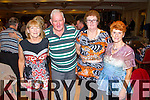 Pictured at a Charity Ceili in the Devon Inn Hotel on Sunday was L-R: Margaret Culloty, Tralee, Brendan Feeley, Listowel, Teresa Hannon, Ballingarry, Mary Flaherty, Listowel.