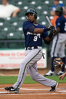 Dawkins, Gookie 3011.jpg.  PCL baseball featuring the New Orleans Zephyrs at Round Rock Express  at Dell Diamond on June 19th 2009 in Round Rock, Texas. Photo by Andrew Woolley.