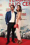"Elena Ballesteros and Juan Antonio Susarte during Premiere Cold Pursuit ""Venganza Bajo Cero"" at Capitol Cinema on July 15, 2019 in Madrid, Spain.<br />  (ALTERPHOTOS/Yurena Paniagua)"