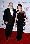 BEVERLY HILLS, CA. - October 25: Producer George Schlatter and Jolene Schlatter arrive at The 30th Anniversary Carousel Of Hope Ball at The Beverly Hilton Hotel on October 25, 2008 in Beverly Hills, California.