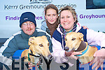 Amanda Saunders Perkins, Kerry Greyhound Connections, Beaufort, believes that most people don't realise what fabulous pets greyhounds can make. She is pictured with her daughter Hannah Perkins and Chris Muth...