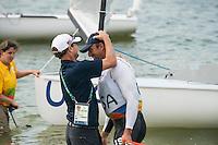 AR_08162016_RIO_PREOLYMPICS_0132.ARW  © Amory Ross / US Sailing Team.  RIO DE JENEIRO - BRAZIL. August 16, 2016. Day 9 of racing at the Olympics.