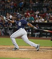 Jose Pirela - 2017 San Diego Padres (Bill Mitchell)