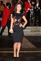 Myleene Klass arriving for the I Can't Sing Press Night, at the Paladium, London. 26/03/2014 Picture by: Alexandra Glen / Featureflash