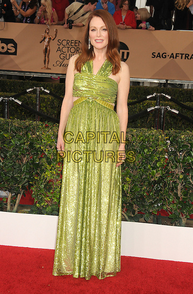 30 January 2016 - Los Angeles, California - Julianne Moore. 22nd Annual Screen Actors Guild Awards held at The Shrine Auditorium.      <br /> CAP/ADM/BP<br /> &copy;BP/ADM/Capital Pictures
