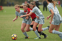 Lakewood Ranch, FL - December 09, 2017: 2017 Girls Development Academy Winter Showcase & Nike International Friendlies at Premier Sports Campus at Lakewood Ranch, FL.
