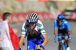 Laurens De Plus (BEL) Quick-Step Floors wearing the Combined Jersey on the slopes of Sierra de la Alfaguara near the finish of Stage 4 of the La Vuelta 2018, running 162km from Velez-Malaga to Alfacar, Sierra de la Alfaguara, Andalucia, Spain. 28th August 2018.<br /> Picture: Eoin Clarke   Cyclefile<br /> <br /> <br /> All photos usage must carry mandatory copyright credit (&copy; Cyclefile   Eoin Clarke)