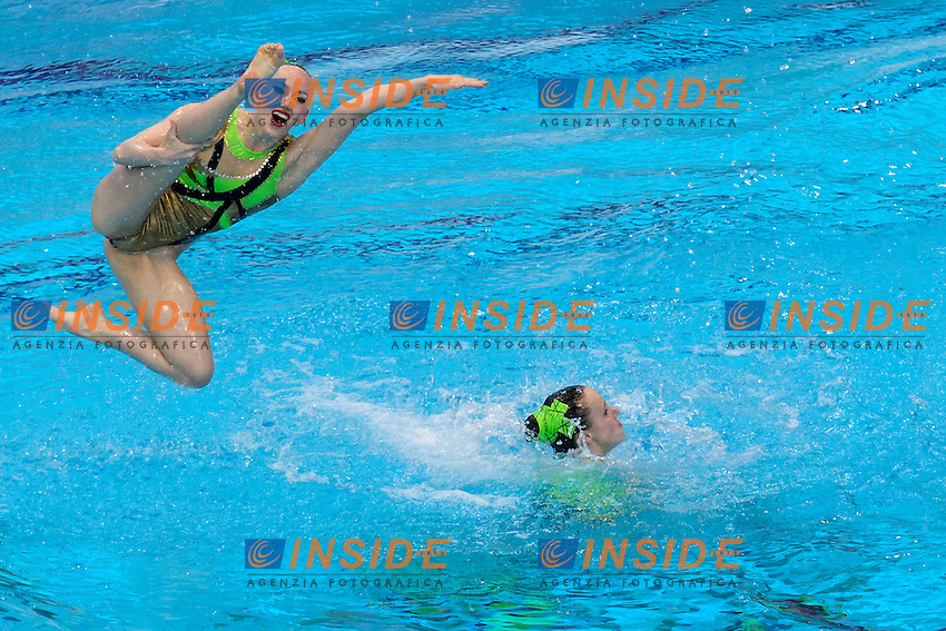 GERMANY GER <br /> BOJER Marlene ZEPPENFELD Edith EBERT Amelie LANNINGER Lara ERMAKOVA Julia KONIGSBAUER <br /> WEYCHARDT Sinja ZIMMER Michelle LANGE Lisa <br /> DACHTLER Daniela <br /> Free Combination Final <br /> London, Queen Elizabeth II Olympic Park Pool <br /> LEN 2016 European Aquatics Elite Championships <br /> Synchronized Swimming <br /> Day 04 12-05-2016<br /> Photo Andrea Staccioli/Deepbluemedia/Insidefoto