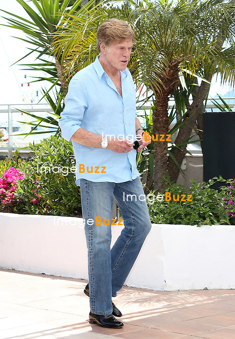 CPE/Actor Robert Redford attends the 'All Is Lost' Photocall during the 66th Annual Cannes Film Festival at the Palais des festivals on May 22, 2013 in Cannes, France.