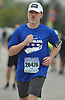 Don MacNeil of Bellmore starts the Long Island Marathon as he heads west on Charles Lindbergh Boulevard in Uniondale on Sunday, May 6, 2018