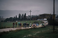 race leaders<br /> <br /> 12th Strade Bianche 2018<br /> Siena &gt; Siena: 184km (ITALY)
