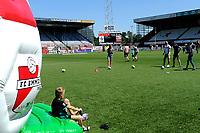 EMMEN - Opendag FC Emmen , Oude Meerdijk, seizoen 2018-2019, 15-07-2018,  spelletjes op hoofdveld