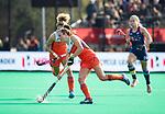 ROTTERDAM - Xan de Waard (Ned) tijdens de Pro League hockeywedstrijd dames, Nederland-USA .  COPYRIGHT  KOEN SUYK