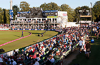 Crowds flock in to watch the Vitality Blast T20 game between Kent Spitfires and Essex Eagles at the St Lawrence Ground, Canterbury, on Thu Aug 2, 2018