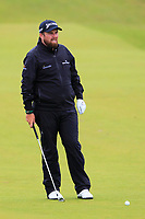 Shane Lowry (IRL) on the 8th during the preview of the the 148th Open Championship, Portrush golf club, Portrush, Antrim, Northern Ireland. 17/07/2019.<br /> Picture Thos Caffrey / Golffile.ie<br /> <br /> All photo usage must carry mandatory copyright credit (© Golffile | Thos Caffrey)