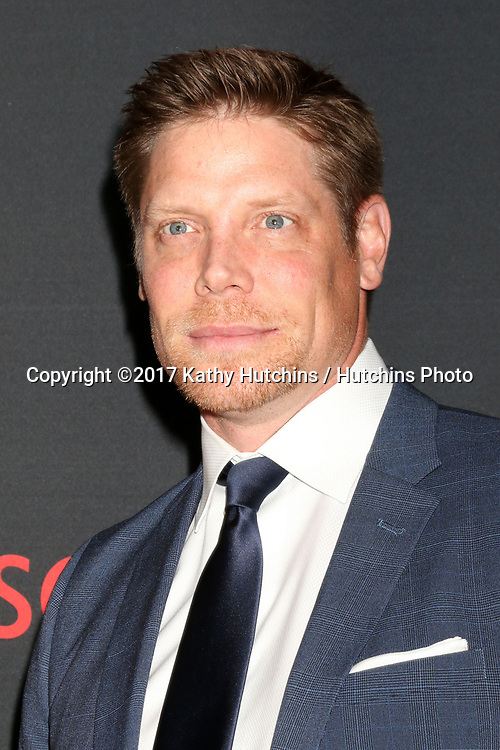 "LOS ANGELES - APR 8:  Brian Letscher at the ""Scandal"" 100th Show Party at Fig & Olive Resturant on April 8, 2017 in West Hollywood, CA"