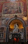 Monument to Pope Leo XIII Transept Giulio Tadolini 1907 Fresco Christ in the Apse Cavaliere d'Arpino et al 1600 Transept over Sacristy St John in Lateran Rome