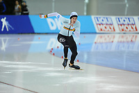 SPEEDSKATING: SALT LAKE CITY: 08-12-2017, Utah Olympic Oval, ISU World Cup, 500m Men B-Division, Mathias Vosté (BEL),  ©photo Martin de Jong