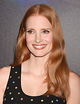 LAS VEGAS, NV - MARCH 28: Actress Jessica Chastain at CinemaCon 2017 The State of the Industry: Past, Present and Future and STXfilms Presentation at The Colosseum at Caesars Palace during CinemaCon, the official convention of the National Association of Theatre Owners, on March 28, 2017 in Las Vegas, Nevada.