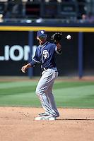 Javier Guerra - San Diego Padres 2016 spring training (Bill Mitchell)