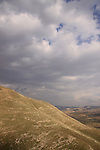 Golan Heights, a view from the southern tip of route 98