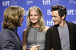 Helen Hunt, William H. Macy & John Hawkes attending the The 2012 Toronto International Film Festival.Photo Call for 'The Sessions' at the TIFF Bell Lightbox in Toronto on 9/9/2012