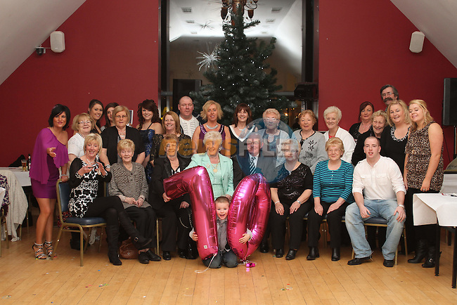 Ann Smith with friends and family at her 70th in The Thatch...(Photo credit should read Jenny Matthews www.newsfile.ie)....This Picture has been sent you under the conditions enclosed by:.Newsfile Ltd..The Studio,.Millmount Abbey,.Drogheda,.Co Meath..Ireland..Tel: +353(0)41-9871240.Fax: +353(0)41-9871260.GSM: +353(0)86-2500958.email: pictures@newsfile.ie.www.newsfile.ie.
