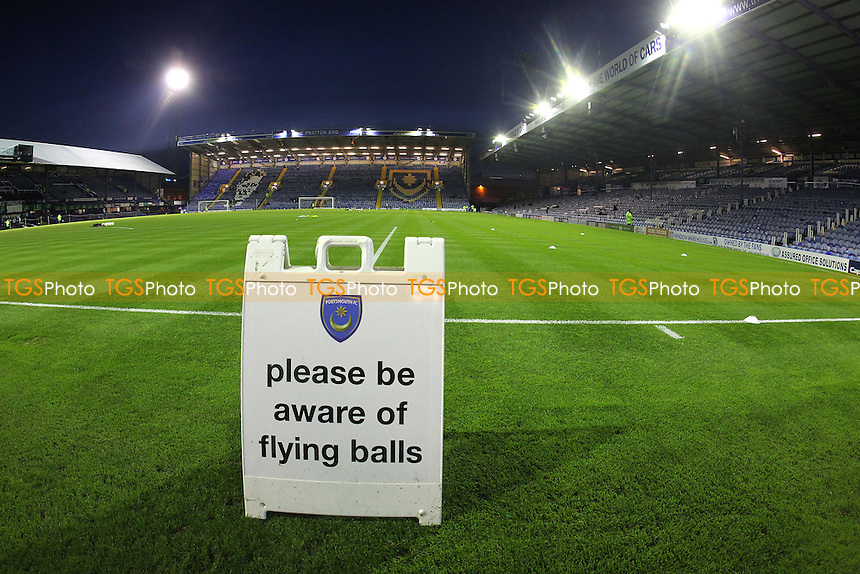 General view of the ground ahead of kick-off during Portsmouth vs Stevenage, Sky Bet League 2 Football at Fratton Park, Portsmouth, England on 20/10/2015