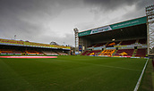 18th March 2018, Fir Park, Motherwell, Scotland; Scottish Premiership football, Motherwell versus Celtic;  General view of a very cold Fir Park pre match